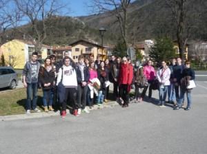 Udeleženci regijskega tekmovanja v Vipavi
